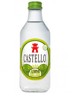 Água Castello Bubbles Lima 0 ,25L T/P