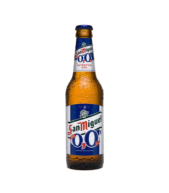 Cerveja Mahou San Miguel Sem Álcool 0